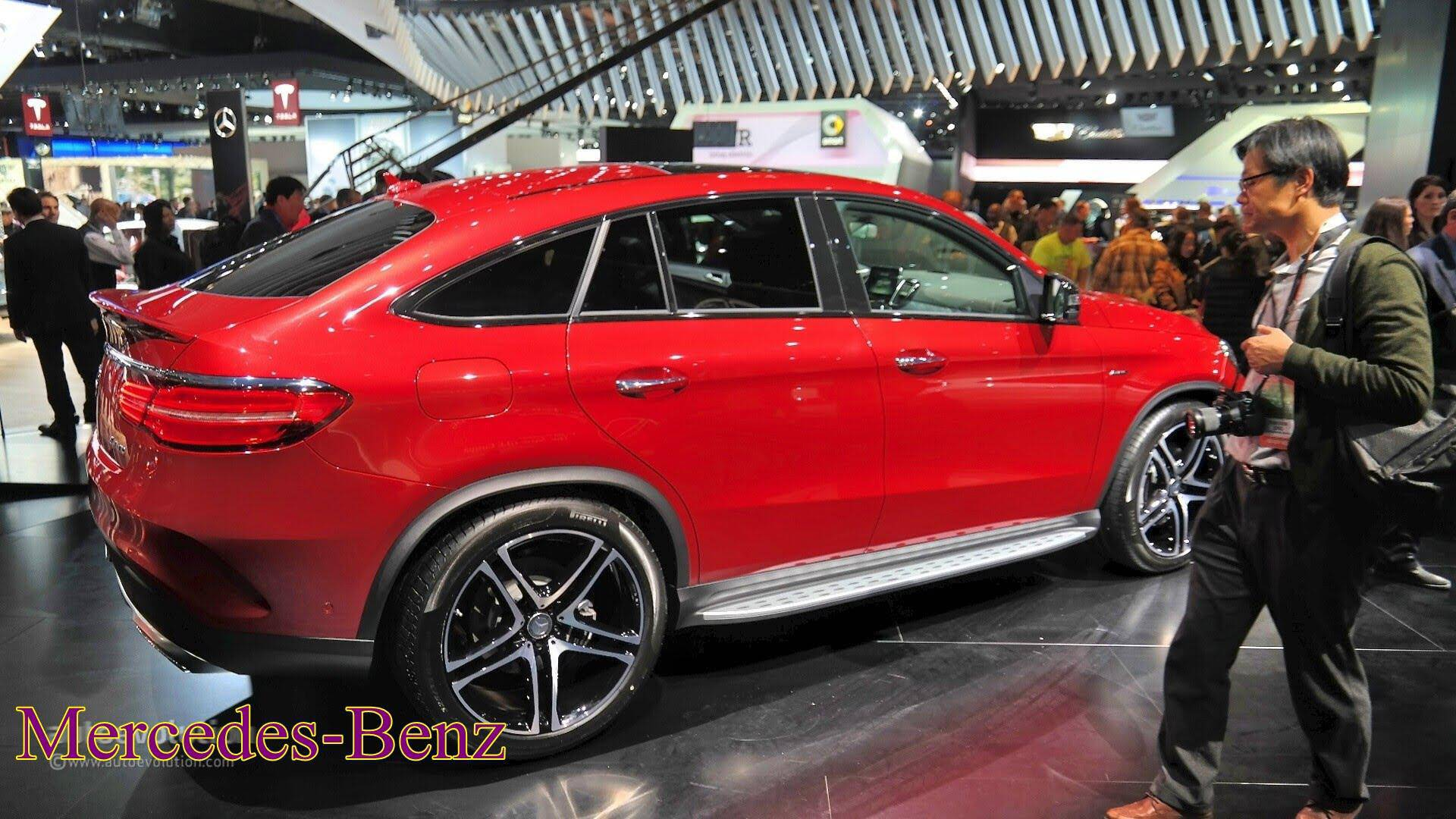 Model 2016 MercedesBenz GLE450 AMG Coupe  First Look Reviews