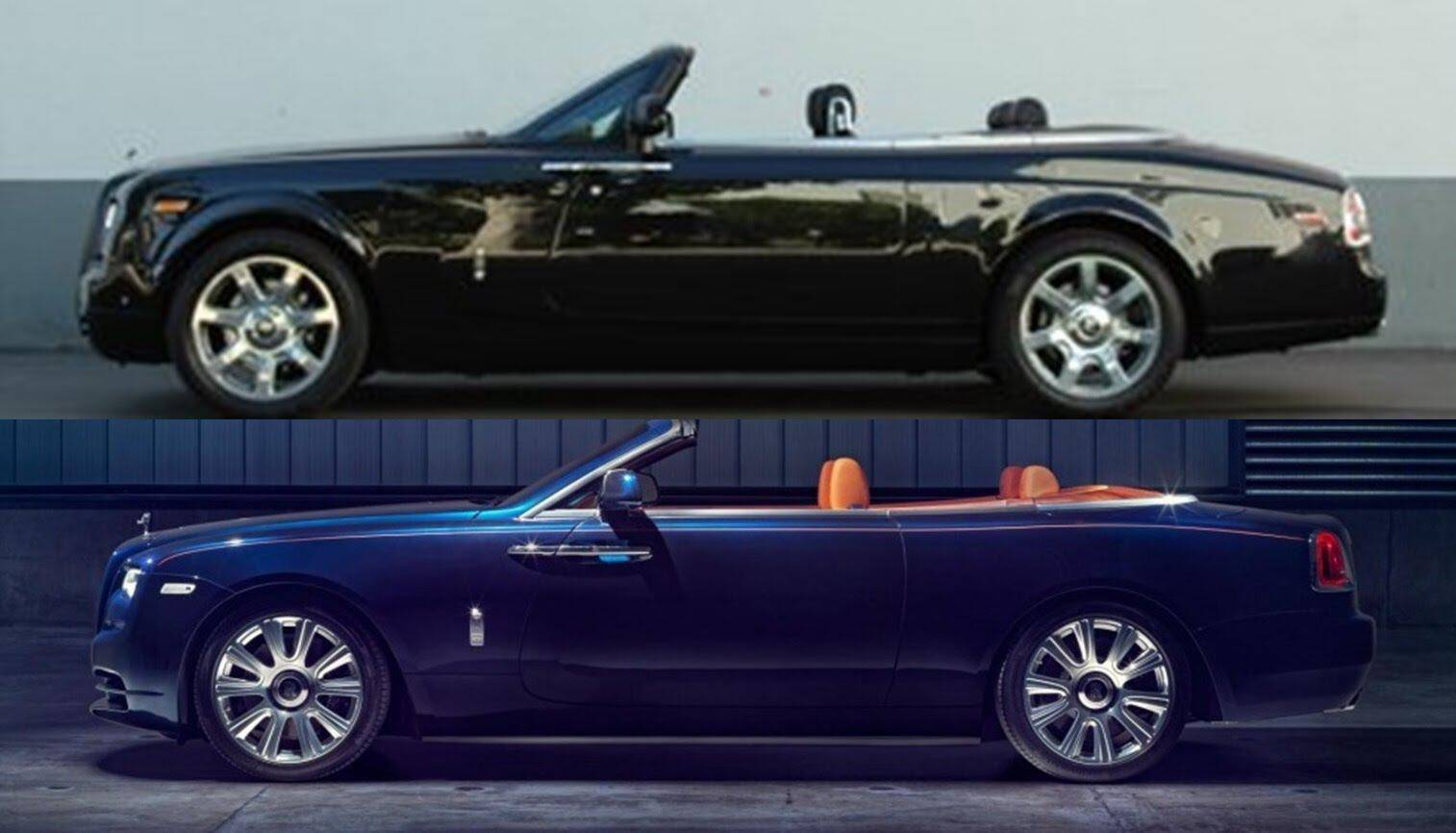 2016 Rolls Royce Phantom Drophead Coupe Vs 2016 Rolls