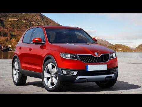 2016 skoda yeti suv rendering auto photo news. Black Bedroom Furniture Sets. Home Design Ideas