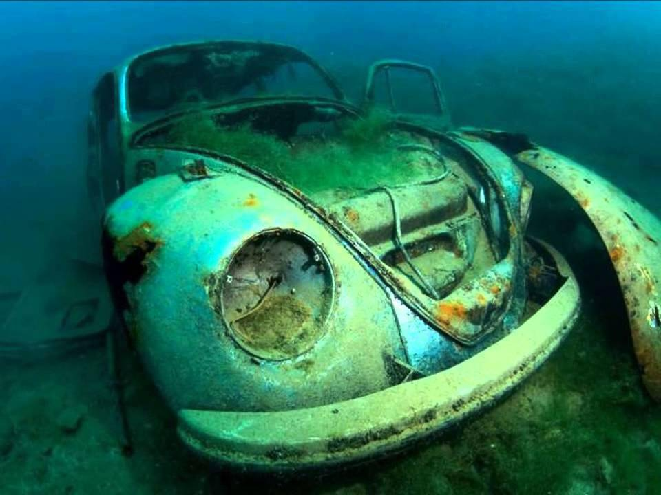 Mercedes El Paso >> Classic Car Rescue ( Underwater find cars ) -AUTO Photo News