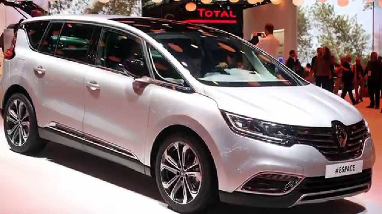new renault espace 2015 2016 auto photo news. Black Bedroom Furniture Sets. Home Design Ideas