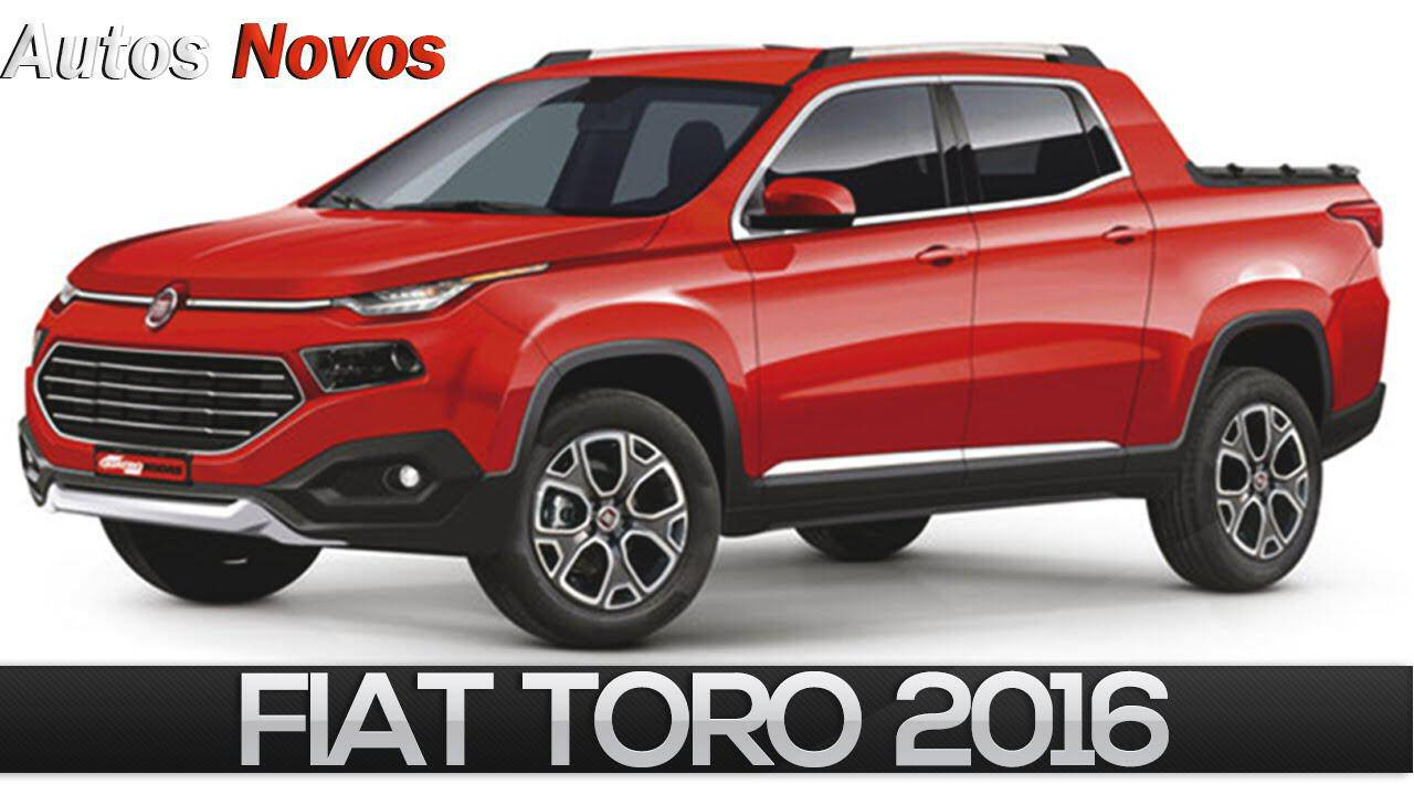 Picape Fiat Toro 2016 primeiras fotos -AUTO Photo News