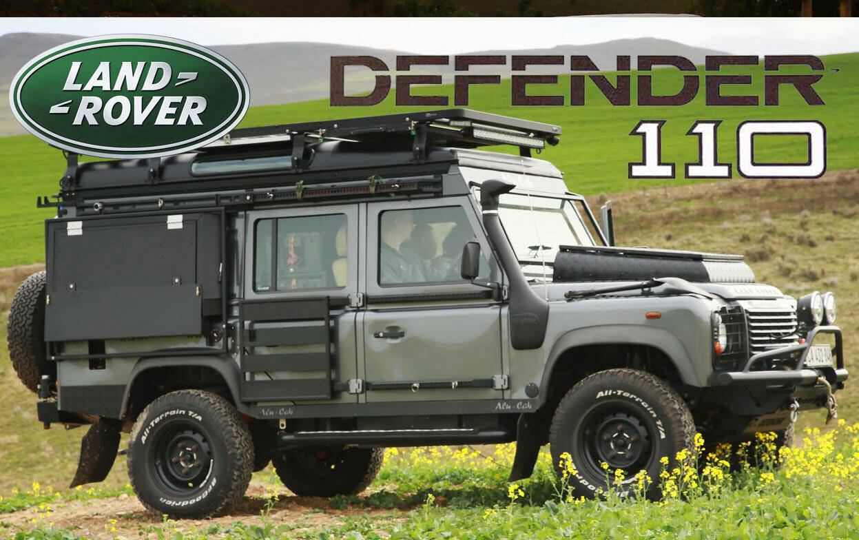 land rover defender the ultimate camper conversion auto photo news. Black Bedroom Furniture Sets. Home Design Ideas
