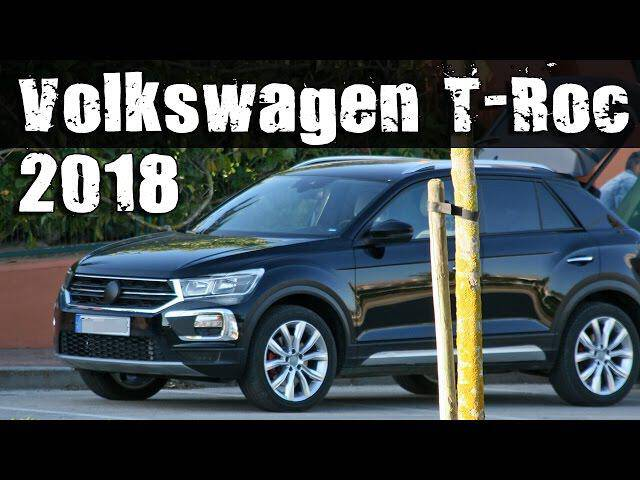 2019 volkswagen t roc subcompact crossover auto photo news. Black Bedroom Furniture Sets. Home Design Ideas